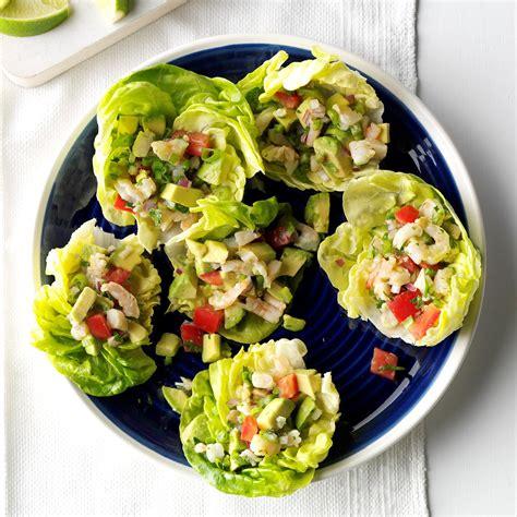 dinner salad recipes shrimp avocado salad recipe taste of home