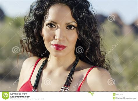 navajo woman hair do beautiful navajo native american stock image image 31114377
