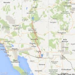 arizona trail map arizona national scenic trail