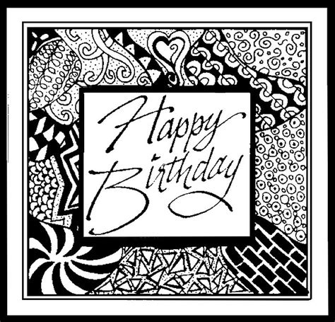 coloring pages for adults birthday adult coloring page happy birthday happy birthday 1