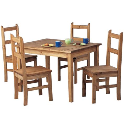 Mexican Dining Table And Chairs Dining Table And Chairs Mexican Pine Dining Room Set Ebay