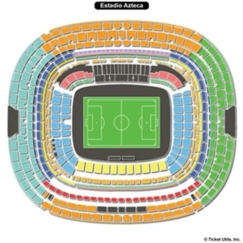 estadio azteca detailed stadium seating estadio azteca seating charts