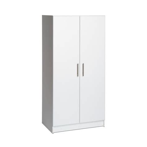 prepac elite 32 inch wardrobe cabinet the home depot canada