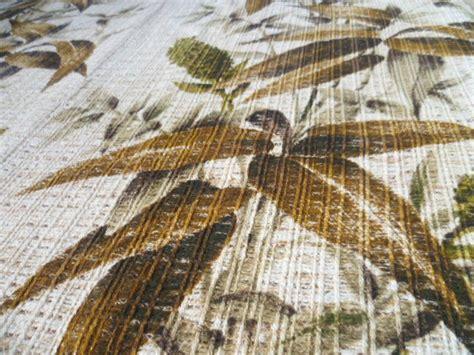 gardinenband mit locher vorhang vorh 228 nge gardine bambus gras beige gr 252 n braun 70er