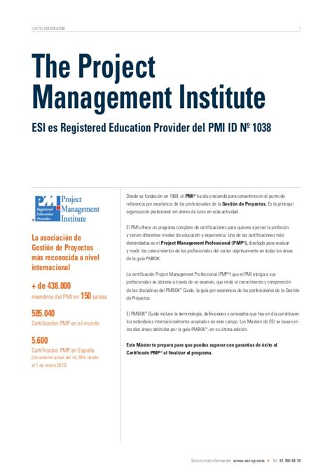 Una Mba Project Management by International Master S Certificate In Project Management