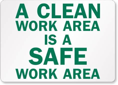 housekeeping safety quotes quotesgram