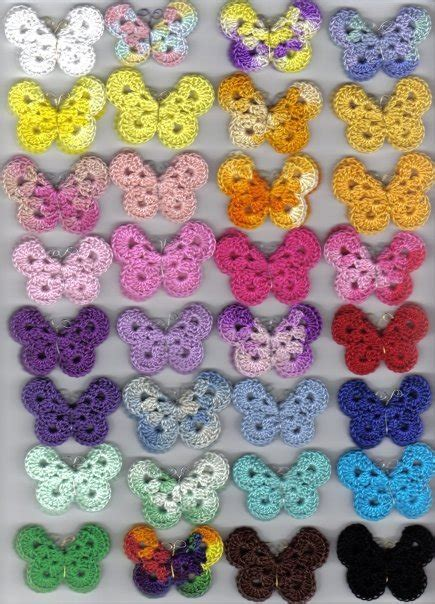 pin crochet butterfly pattern on pinterest 15 free crochet butterfly patterns