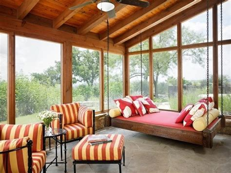 nuri werkstatt enclosed patio swing let s decorate brightening your