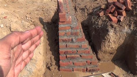 house foundation types घर क न व building foundation types in house construction youtube