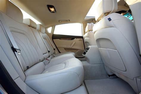 maserati levante back seat maserati quattroporte interior rear seat