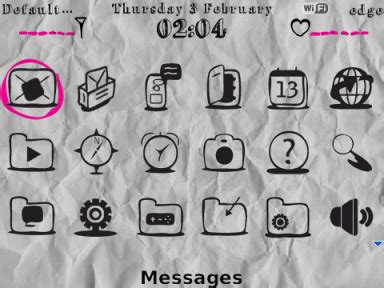 background kertas lecek tema paper myandroberry