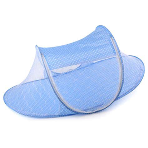 Ranjang Bayi 5 ranjang bayi net anti nyamuk 0 2 tahun blue