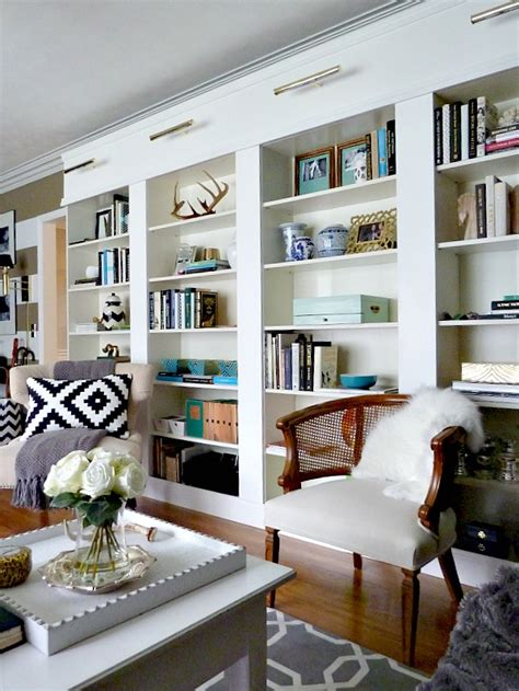 wall library diy 5 things to make from leather wooden shelves