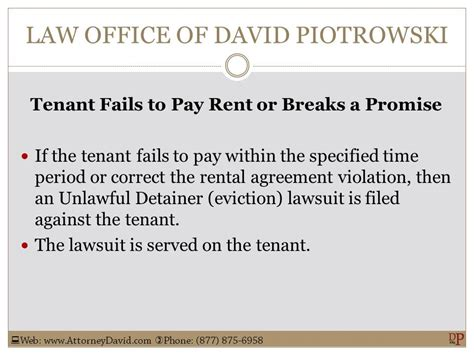 Tenant Eviction Ventura County Office Of David Piotrowski Page 48 Of 83