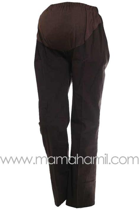 Celana Kerja Katun Coklat jual celana kerja standart celana model pipa