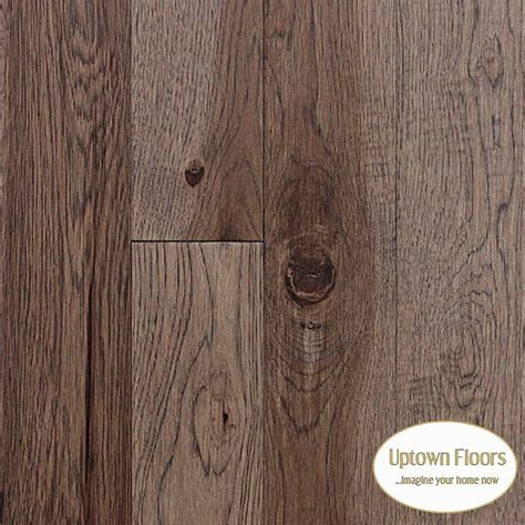 Medium Brown, Grey Hickory Hardwood   Solid or Engineered