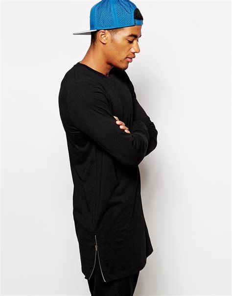 Longline Swag T Shirt Swag T Shirt Younglex 1 fashion wear t shirt extend swag side zip t