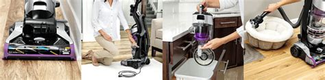 bissell  cleanview rewind deluxe upright bagless vacuum
