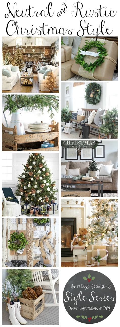 christmas decoration inspiration diy xmas gift ideas shopping cool presents tree winter holiday rustic natural neutral christmas style series the