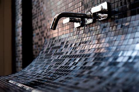 Mosaic Tile Sink mosaic tile sink with backsplash captivatist