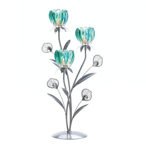 peacock plume candle holder wholesale at koehler home decor triple peacock bloom candle holder wholesale at koehler