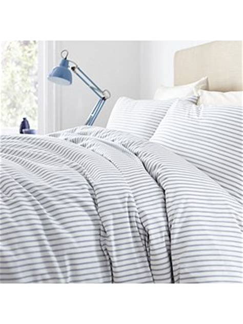 blue ticking comforter linea linea blue ticking stripe bedding range house of