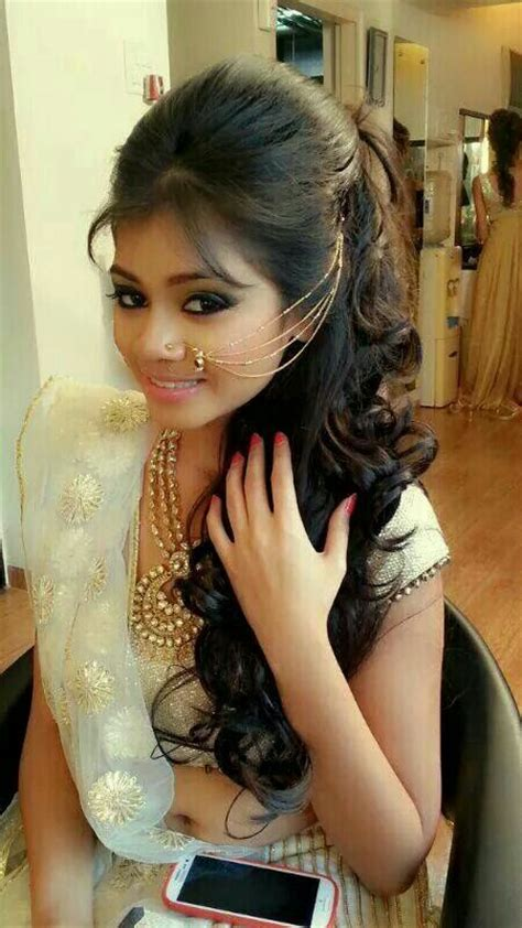 new sri lankan girrls hair styles 25 best ideas about indian wedding hairstyles on
