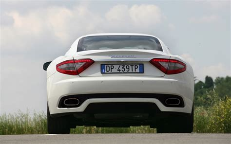 white maserati rear image gallery maserati back