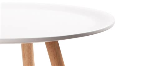 table ronde design blanche table 224 manger blanche a prix discount