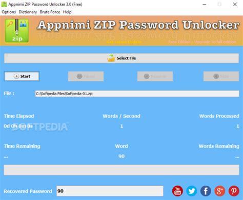 best zip password unlocker zip password unlocker v4 0 unlock a l l zip archieves
