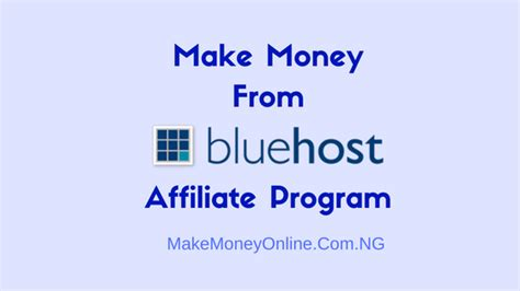 Make Money Programming Online - bluehost affiliate program make 65 per signup from bluehost com make money online