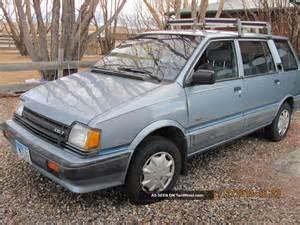 1989 dodge colt vista wagon 4wd four wheel drive