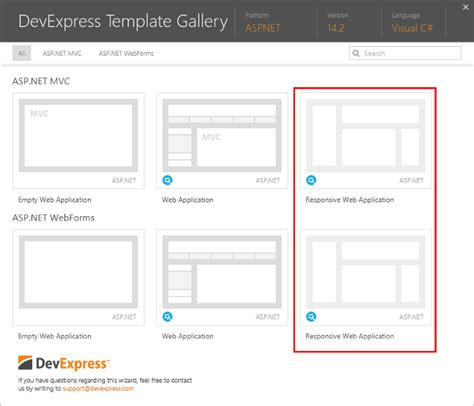 layout template asp mehul harry s devexpress blog