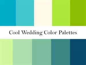 blue and green color schemes cool wedding color palettes of green blue and teal
