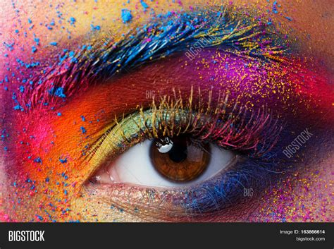 Pac Color Festival Eye Shadow view eye bright image photo bigstock