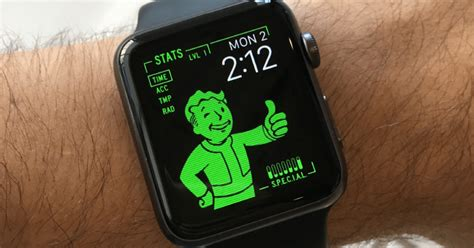 fallout wallpaper for apple watch turn your apple watch into fallout s pip boy slashgear