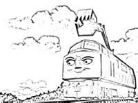 Diesel 10 Coloring Page diesel 10 coloring pages pictures to pin on