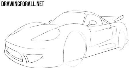 how to draw a jaguar car drawingforall net how to draw a sports car drawingforall net
