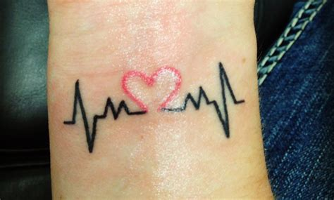 imagenes tatuajes de corazones tatuajes de latidos de coraz 243 n