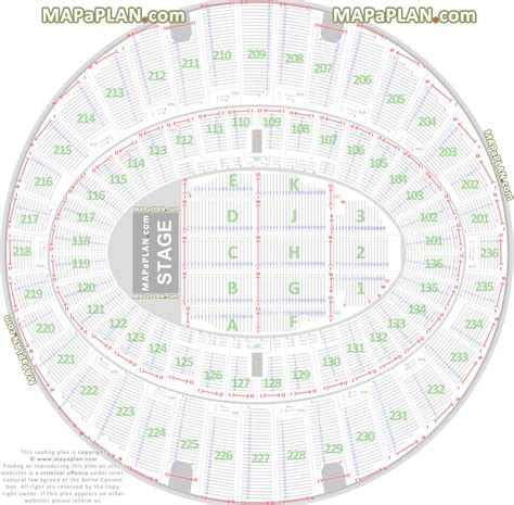 layout plan number the forum inglewood detailed seat numbers chart with