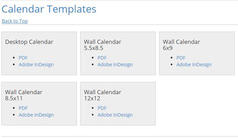 5 Adobe Indesign Calendar Template Af Templates Adobe Calendar Template