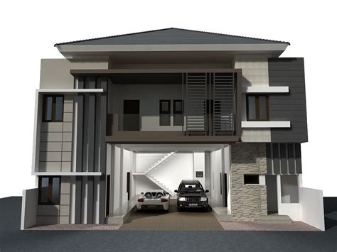 design of exterior house design rumah kost sederhana keren next goals pinterest boarding house 3d