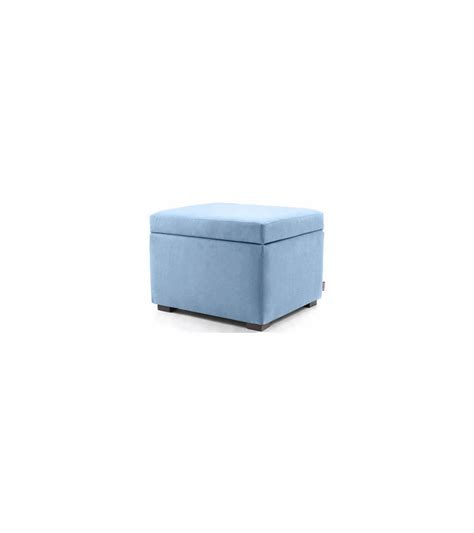 Light Blue Ottoman Monte Design Storage Ottoman In Light Blue