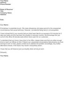 warning letter template for absenteeism reprimand letter for absenteeism tardiness