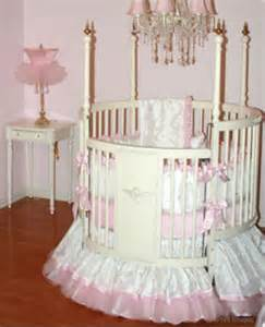 Princess beds and cribs for a baby girl storybook nursery