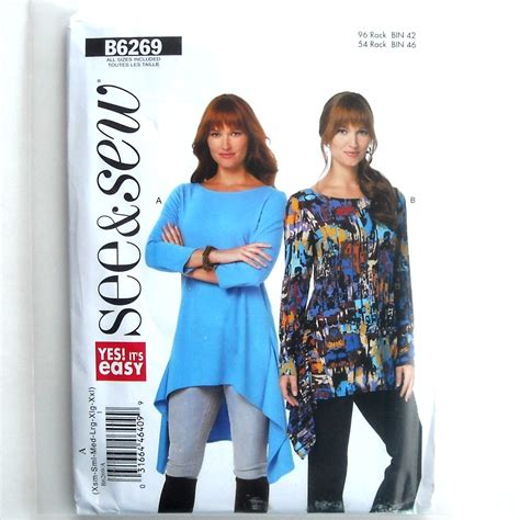 Tunic Woolpeach Wolfis Tunic All Size misses tunic all sizes easy see sew butterick pattern b6269