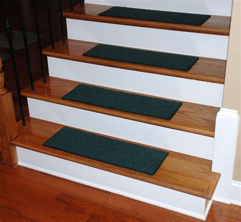 Rug Stair Treads by Carpet Stair Treads 27 Quot X 9 Quot Green