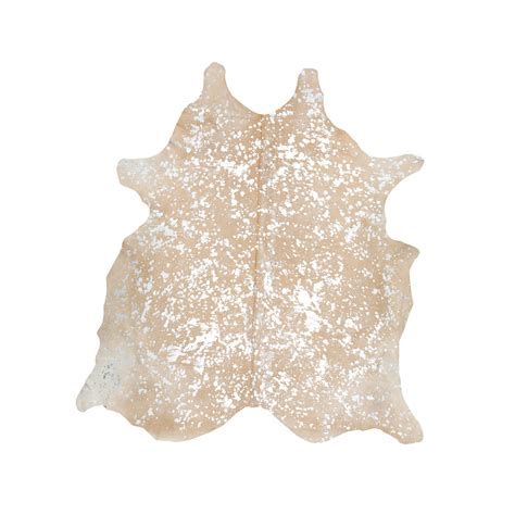 Cowhide Rug southwest rugs devore metallic beige with silver cowhide rug lone western decor