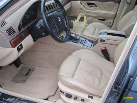 sand beige interior 2001 bmw 7 series 740il sedan photo