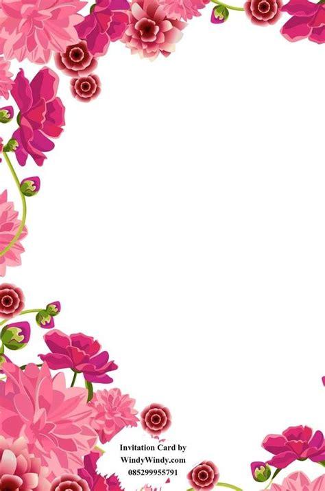 gambar bunga  undangan pernikahan png tulisanviralinfo